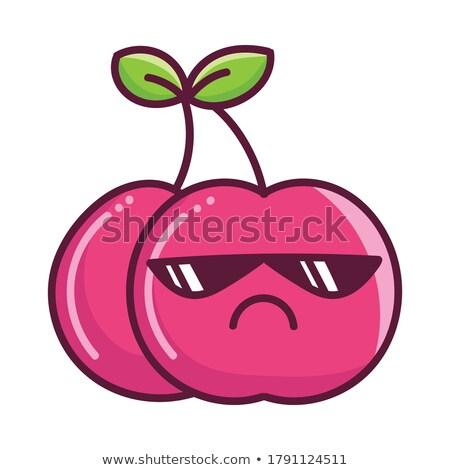 Bogyó őrület nyár gyűjtemény bogyók eprek Stock fotó © danielgilbey