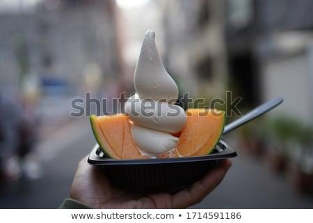 Foto d'archivio: Melone · dessert · vetro · cocktail · colazione · pranzo