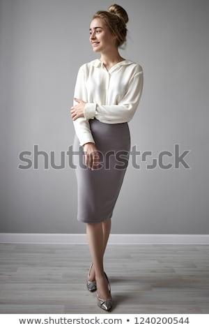 女性実業家 着用 スカート スーツ 少女 手 ストックフォト © photography33