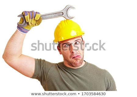 craftsman grimacing Stock photo © photography33