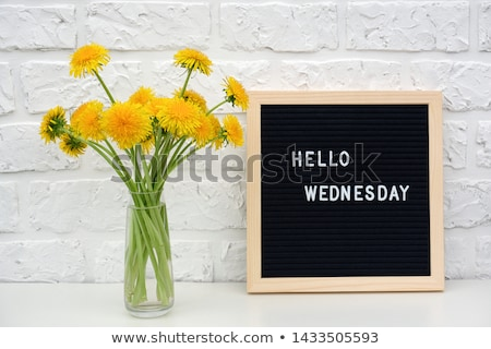 Wednesday Stock photo © marinini