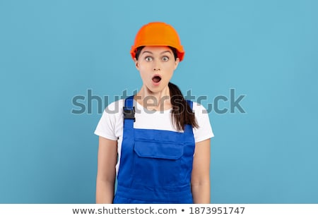 craftswoman painter posing Stock photo © photography33