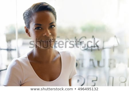 Lezser üzletasszony portré kép nő mosoly Stock fotó © Ronen