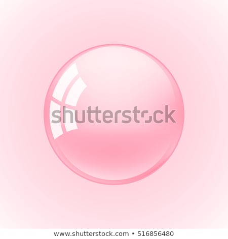 pink bubbles frame stock photo © lightsource