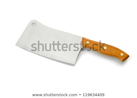 Kitchen hatchet isolated on white background. Stock photo © Leonardi