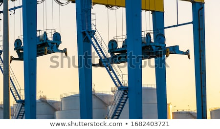 Schip pier business water industrie industriële Stockfoto © Roka