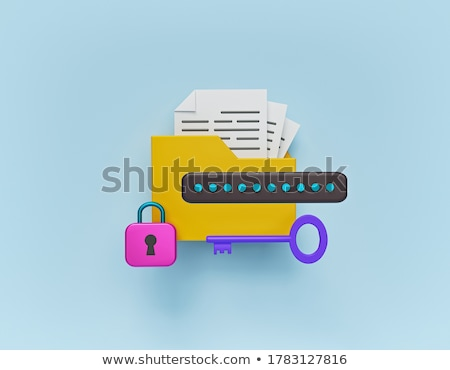 3d folders stock photo © 4designersart