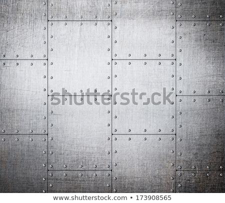 Nit wektora metal tekstury tle tablicy Zdjęcia stock © romvo