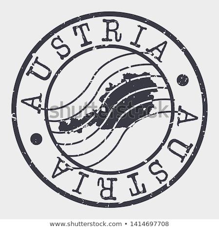 austrian post stamp stock photo © taigi
