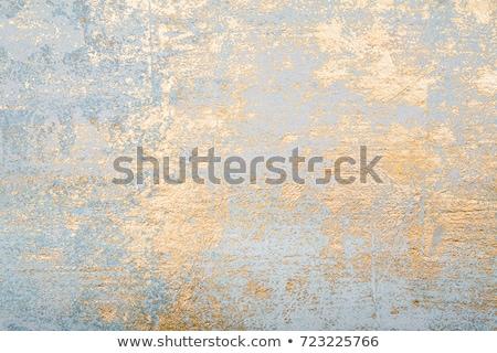 Goud muur hoog kwaliteit 3d render abstract Stockfoto © ixstudio
