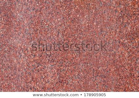 Kırmızı granit yüzey doku duvar Stok fotoğraf © ixstudio