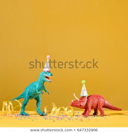 two dinosaurs Stock photo © mariephoto