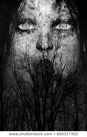 Scary Ghostly Woman Stock photo © rcarner