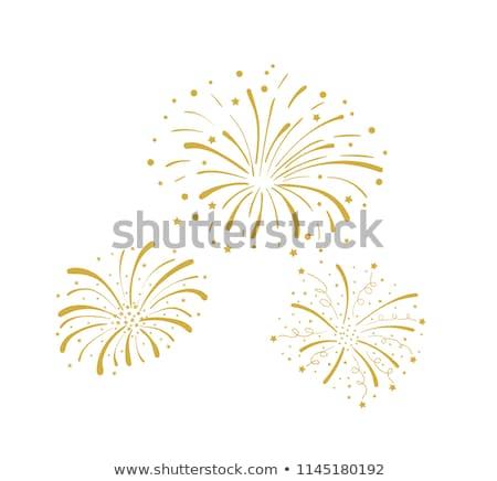 vector beautiful diwali celebration crackers illustration stock photo © bharat
