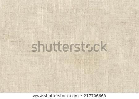 Fény természetes vászon textúra háttér szövet Stock fotó © oly5