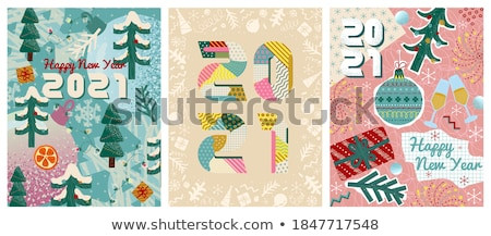 Winter collage computer gedetailleerd grunge Stockfoto © Lizard