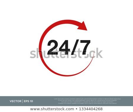 Vetor acessar ícone verde preto assinar Foto stock © nickylarson974