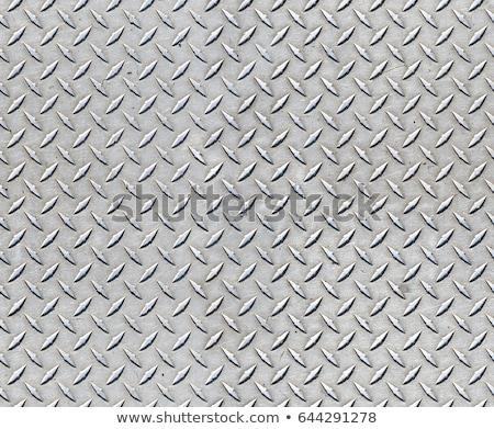 gyémánt · tányér · fém · textúra · szép · ipari · építkezés - stock fotó © arenacreative