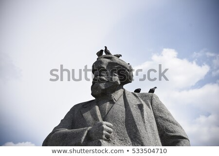 karl marx   statue stock photo © jarin13