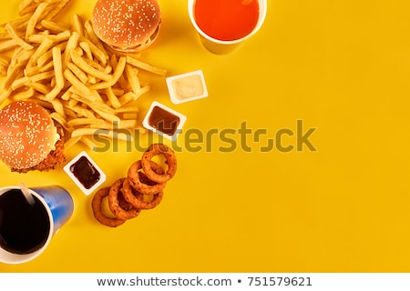 Greasy Fast Food Stock photo © Lightsource