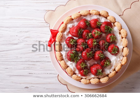 strawberry charlotte Stock photo © M-studio