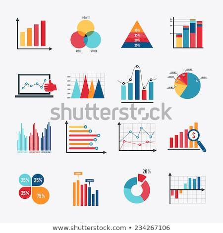 Gráfico tabla negocios tendencias periódico industria Foto stock © vinnstock