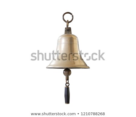 alarm bell isolated on white stock photo © ozaiachin