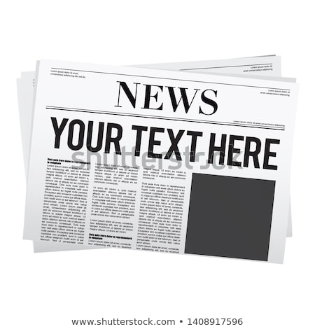 A newspaper with the headline IT-News Stock photo © Zerbor