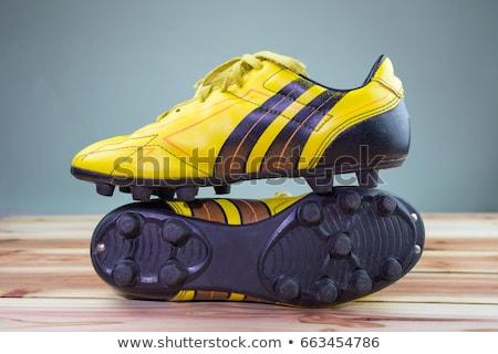 Usato grigio sport scarpa Foto d'archivio © ozgur