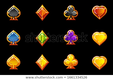 Set of gems in different color Stock photo © zybr78