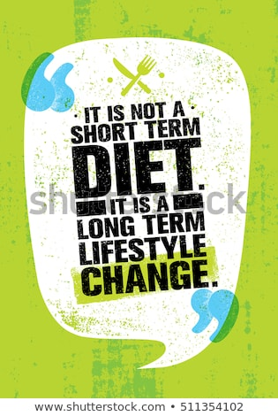Diet Motivation Stock photo © Lightsource