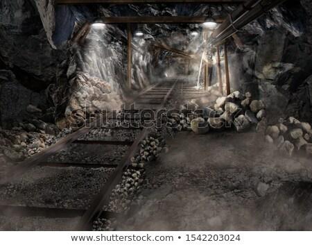 マイニング レール 古い 捨てられた 鉱山 ストックフォト © eppicphotos