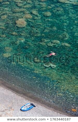 snorkeling, Cap de Peyrefite, Languedoc-Roussillon, France Stock photo © phbcz