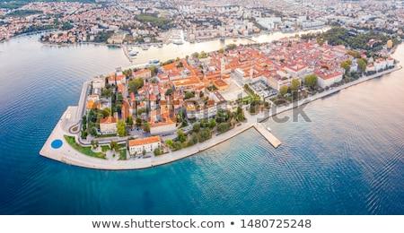 Cityscape of Zadar Stock photo © smuki