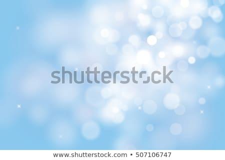Floco de neve abstrato azul natal flocos de neve Foto stock © bonathos