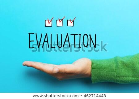 Evaluate word Stock photo © fuzzbones0