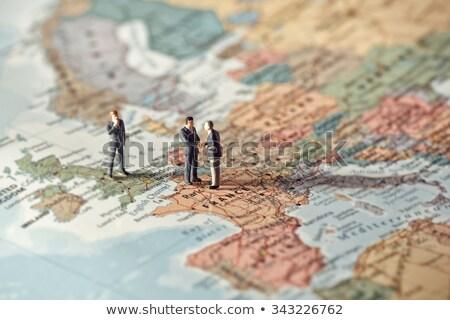 Европа · иллюстрация · пространстве · желтый - Сток-фото © kirill_m