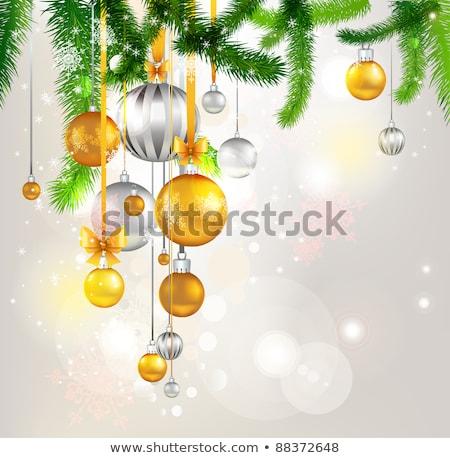 Рождества безделушка прибыль на акцию 10 веселый модный Сток-фото © beholdereye