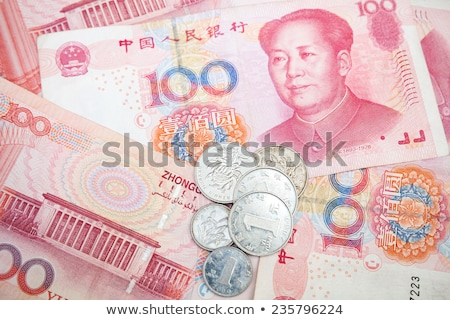 Chinese currency on a heap Stock photo © Hofmeester