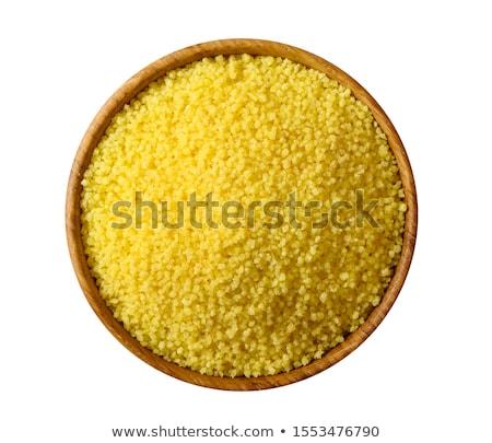 Greggio couscous texture primo piano alimentare sfondo Foto d'archivio © FOKA