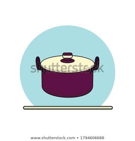 illustrazione · come · ketchup · senape · olio · d'oliva - foto d'archivio © bluering