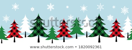Christmas Symbols Background Horizontal Seamless Banner Vector