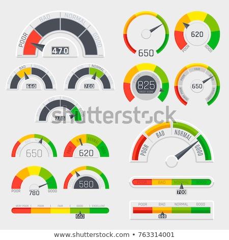 Autó háttér grafikus méret kör hangszer Stock fotó © bluering