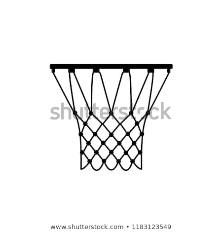 Basketball hoop with net Stock photo © bluering