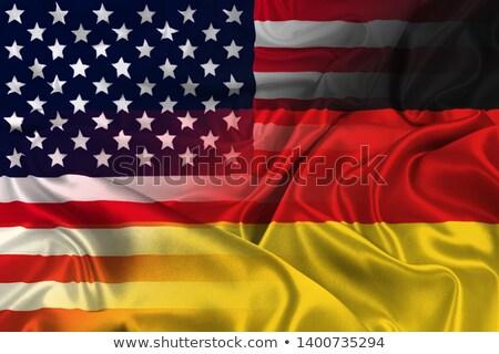 Americano cooperazione Germania Stati Uniti commercio internazionale Foto d'archivio © Lightsource