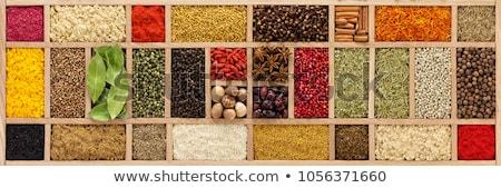 аромат Spice специи чаши таблице Сток-фото © tycoon
