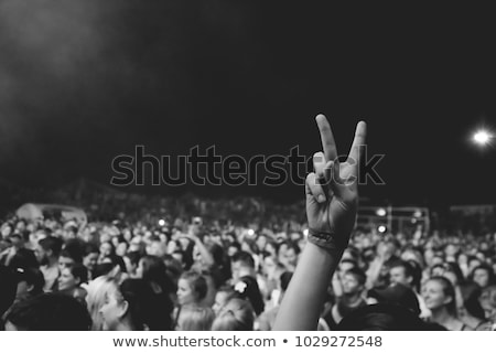 Music and peace. Stock photo © Fisher