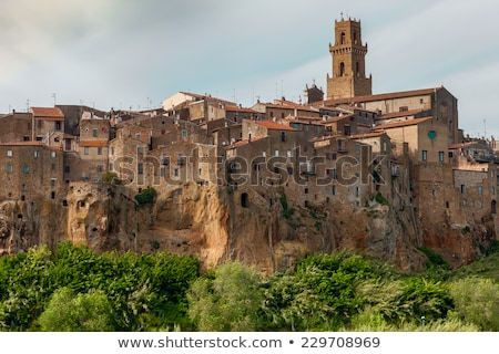Pitigliano - city on the clif in Italy Stock photo © master1305