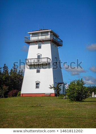 Traditional  Wooden Lighthouse on Prince Edward Island in Canada Stock photo © chrisukphoto