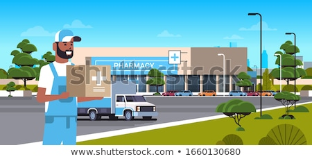 Stock photo: Medication delivery.
